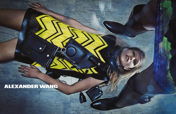Campagne Alexander Wang - Automne/hiver 2014-2015 - Photo 7