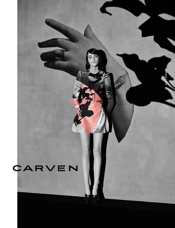 Campagne Carven - Automne/hiver 2014-2015 - Photo 1