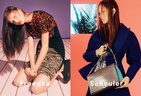 Campagne Proenza Schouler - Automne/hiver 2014-2015 - Photo 1