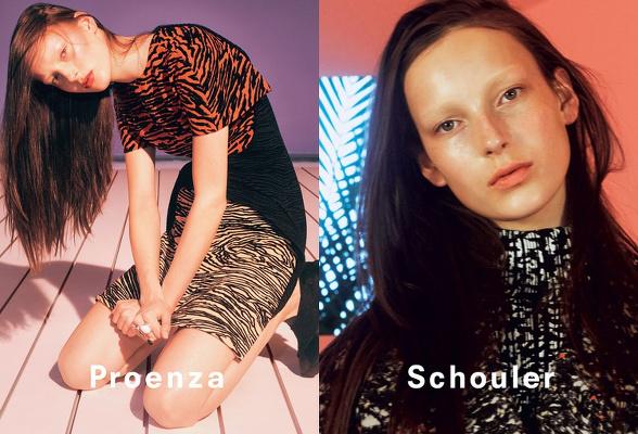 Campagne Proenza Schouler - Automne/hiver 2014-2015 - Photo 2