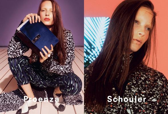 Campagne Proenza Schouler - Automne/hiver 2014-2015 - Photo 5