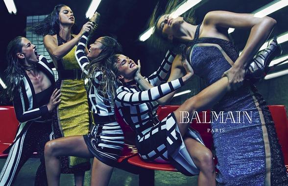 Campagne Balmain - Printemps/été 2015 - Photo 1