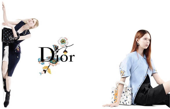 Campagne Dior - Printemps/été 2015 - Photo 2