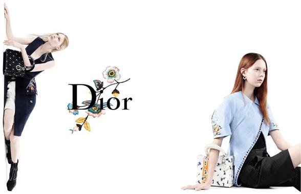Campagne Dior - Printemps/été 2015 - Photo 2