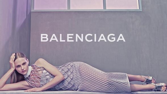 Campagne Balenciaga - Printemps/été 2015 - Photo 1