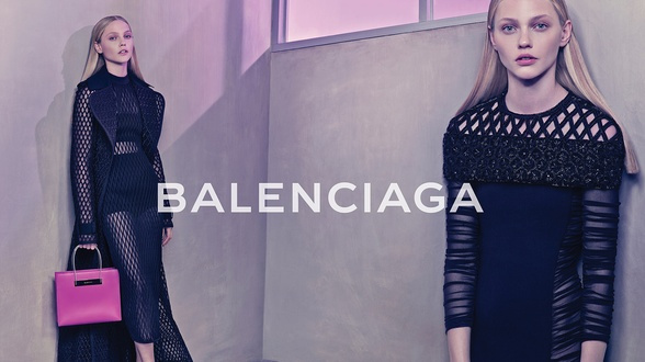 Campagne Balenciaga - Printemps/été 2015 - Photo 2