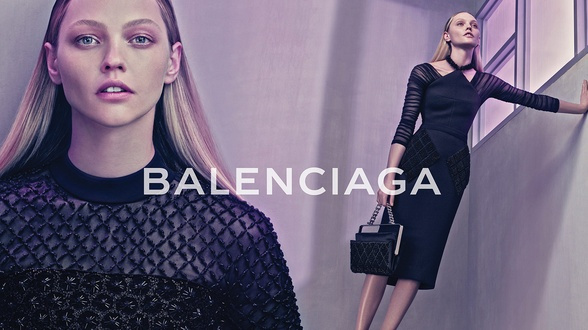 Campagne Balenciaga - Printemps/été 2015 - Photo 9