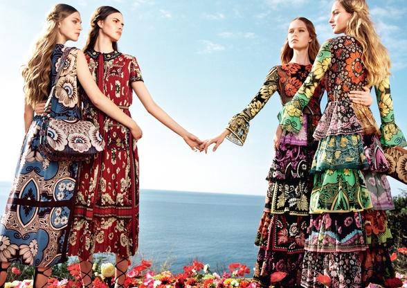 Campagne Valentino - Printemps/été 2015 - Photo 5