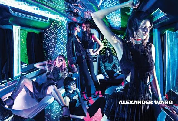 Campagne Alexander Wang - Printemps/été 2015 - Photo 2