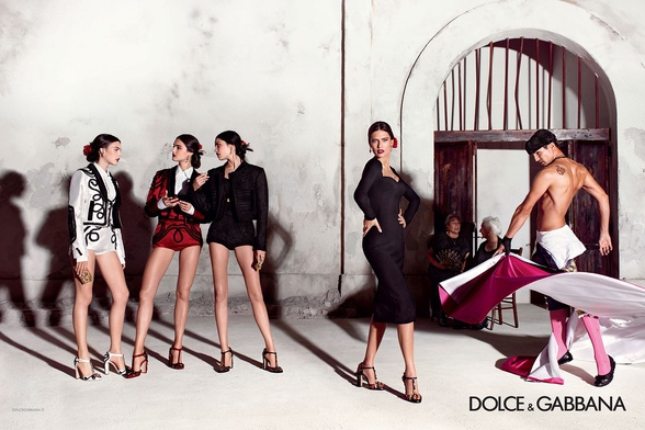 Campagne Dolce & Gabbana - Printemps/été 2015 - Photo 1