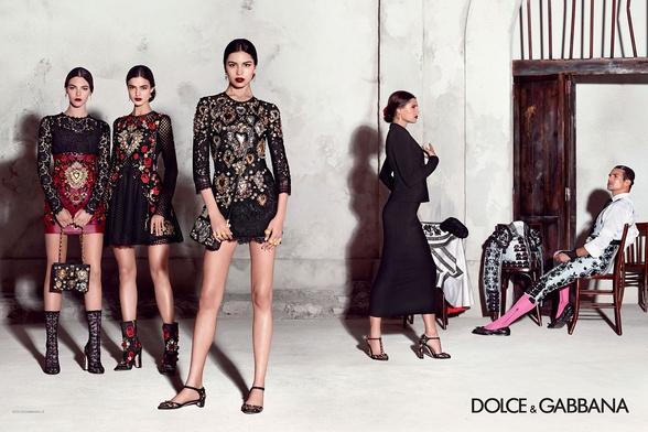 Campagne Dolce & Gabbana - Printemps/été 2015 - Photo 2