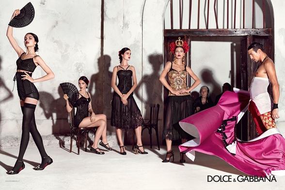Campagne Dolce & Gabbana - Printemps/été 2015 - Photo 3