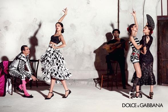Campagne Dolce & Gabbana - Printemps/été 2015 - Photo 4