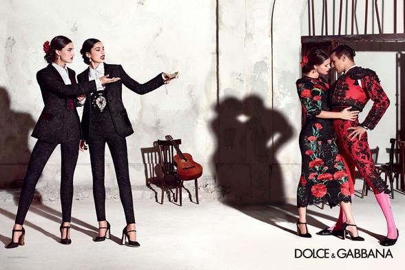 Campagne Dolce & Gabbana - Printemps/été 2015 - Photo 5