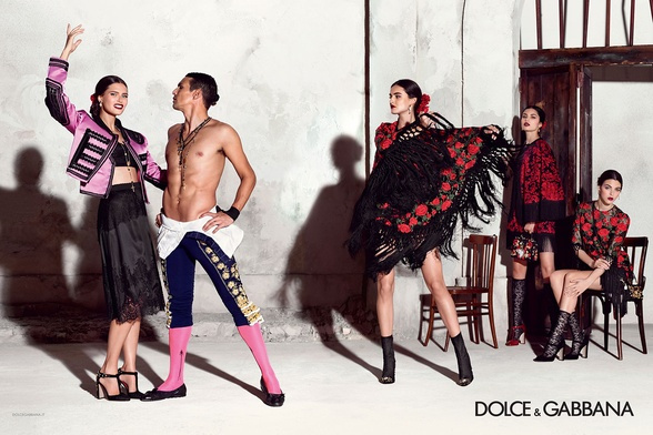 Campagne Dolce & Gabbana - Printemps/été 2015 - Photo 7