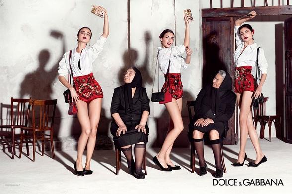 Campagne Dolce & Gabbana - Printemps/été 2015 - Photo 8