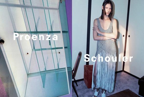 Campagne Proenza Schouler - Printemps/été 2015 - Photo 1