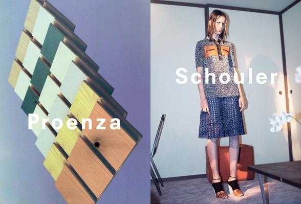 Campagne Proenza Schouler - Printemps/été 2015 - Photo 2
