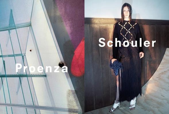 Campagne Proenza Schouler - Printemps/été 2015 - Photo 4