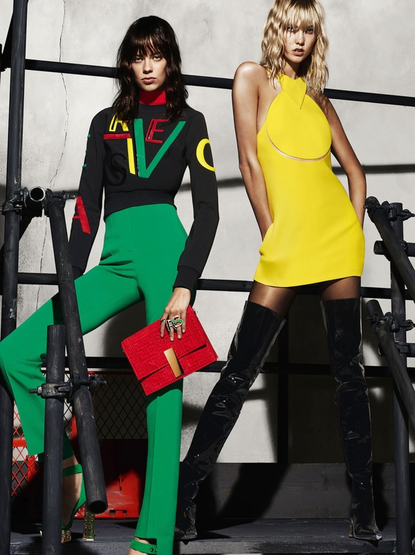 Campagne Versace - Automne/hiver 2015-2016 - Photo 4