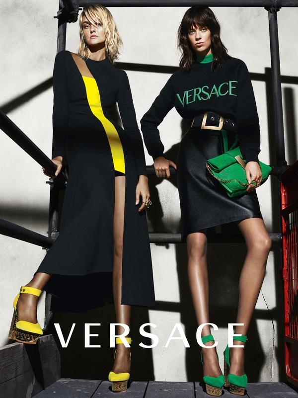 Campagne Versace - Automne/hiver 2015-2016 - Photo 5