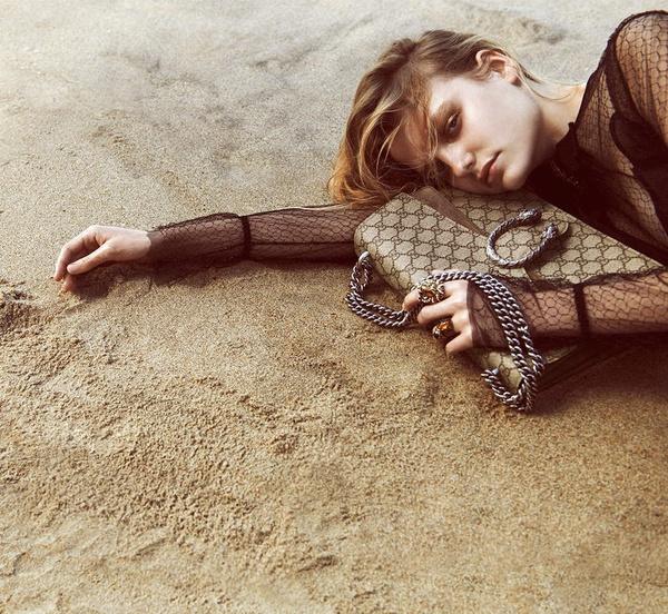 Campagne Gucci - Automne/hiver 2015-2016 - Photo 6