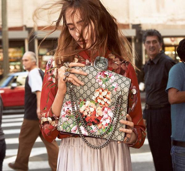 Campagne Gucci - Automne/hiver 2015-2016 - Photo 8