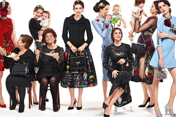 Campagne Dolce & Gabbana - Automne/hiver 2015-2016 - Photo 7