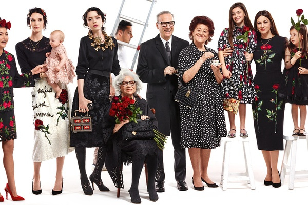 Campagne Dolce & Gabbana - Automne/hiver 2015-2016 - Photo 10