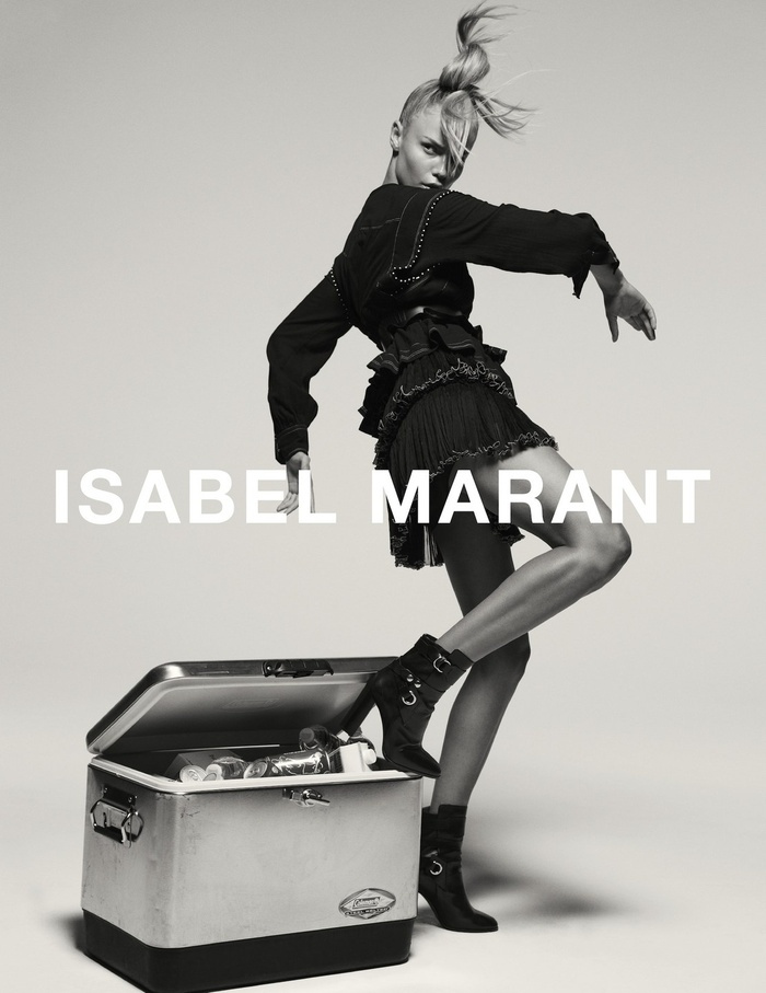 Campagne Isabel Marant - Automne/hiver 2015-2016 - Photo 3