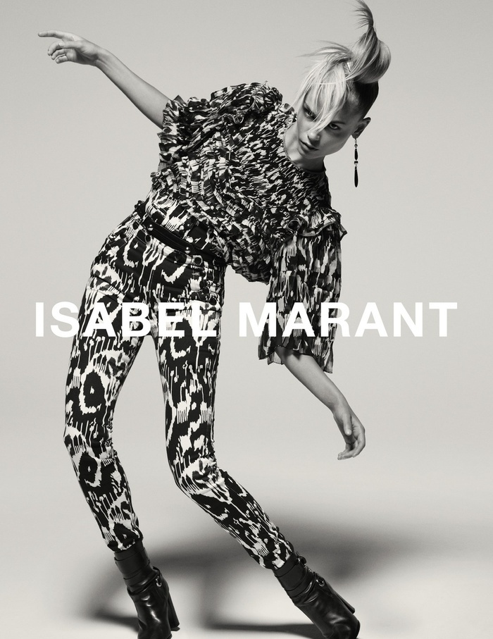 Campagne Isabel Marant - Automne/hiver 2015-2016 - Photo 4