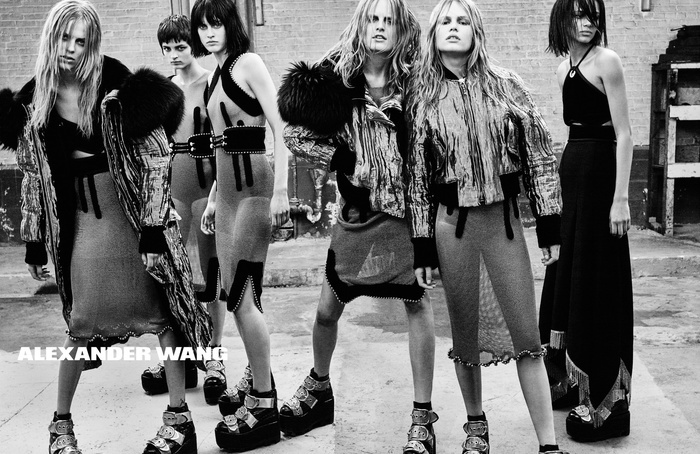 Campagne Alexander Wang - Automne/hiver 2015-2016 - Photo 1