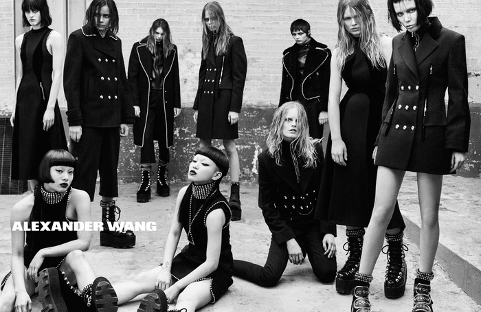 Campagne Alexander Wang - Automne/hiver 2015-2016 - Photo 2