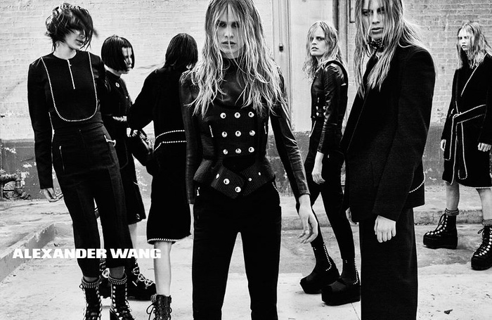 Campagne Alexander Wang - Automne/hiver 2015-2016 - Photo 3