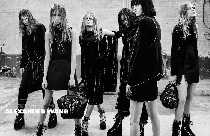 Campagne Alexander Wang - Automne/hiver 2015-2016 - Photo 4