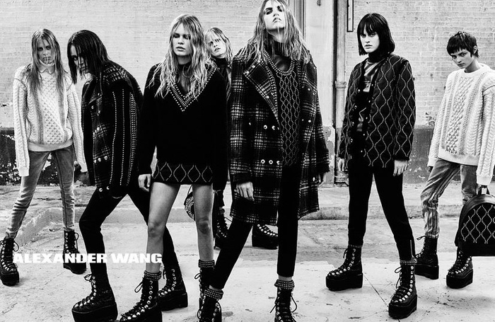 Campagne Alexander Wang - Automne/hiver 2015-2016 - Photo 5