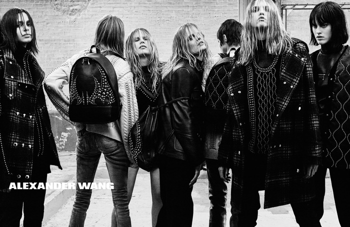 Campagne Alexander Wang - Automne/hiver 2015-2016 - Photo 6