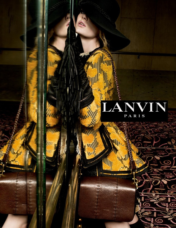 Campagne Lanvin - Automne/hiver 2015-2016 - Photo 1