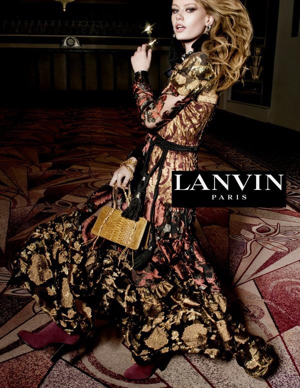 Campagne Lanvin - Automne/hiver 2015-2016 - Photo 2