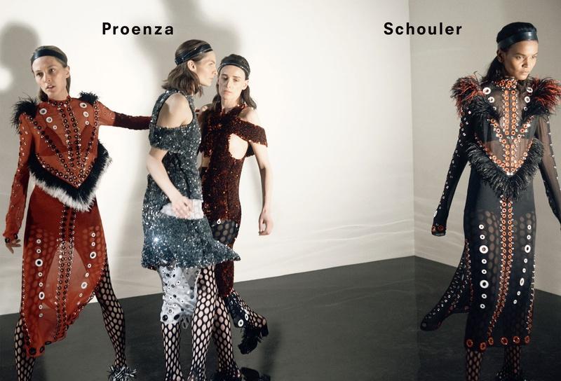 Campagne Proenza Schouler - Automne/hiver 2015-2016 - Photo 1