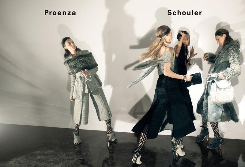 Campagne Proenza Schouler - Automne/hiver 2015-2016 - Photo 3