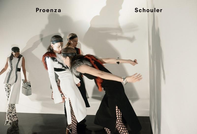 Campagne Proenza Schouler - Automne/hiver 2015-2016 - Photo 4