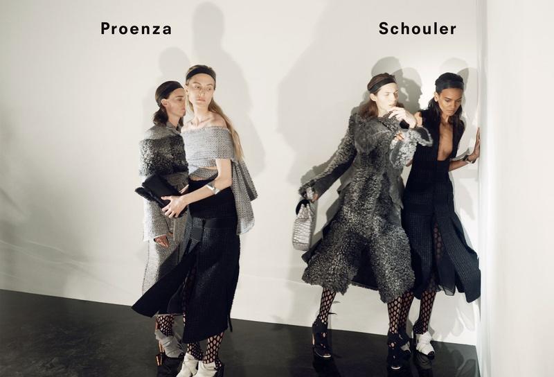 Campagne Proenza Schouler - Automne/hiver 2015-2016 - Photo 5