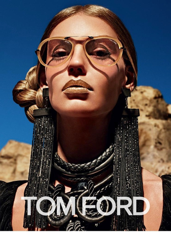 Campagne Tom Ford - Automne/hiver 2015-2016 - Photo 5