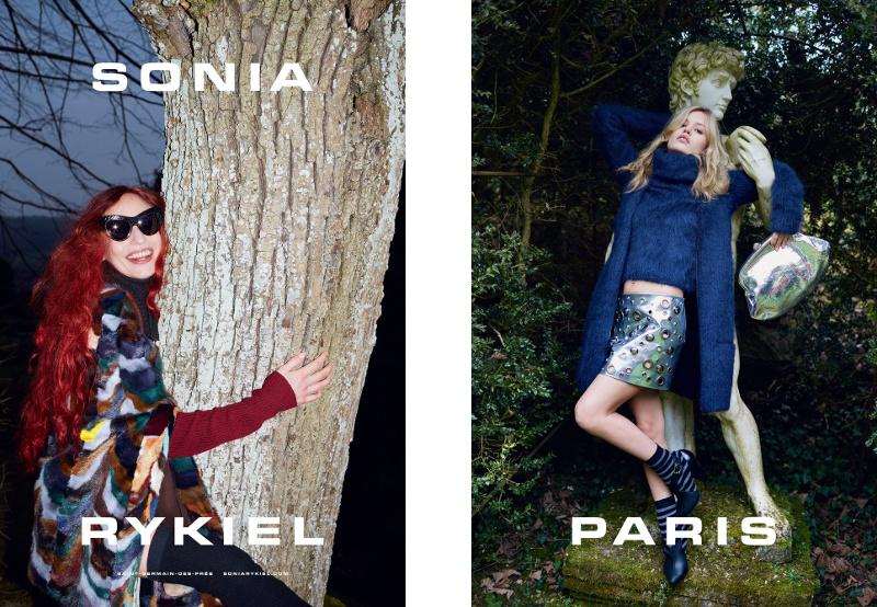 Campagne Sonia Rykiel - Automne/hiver 2015-2016 - Photo 1