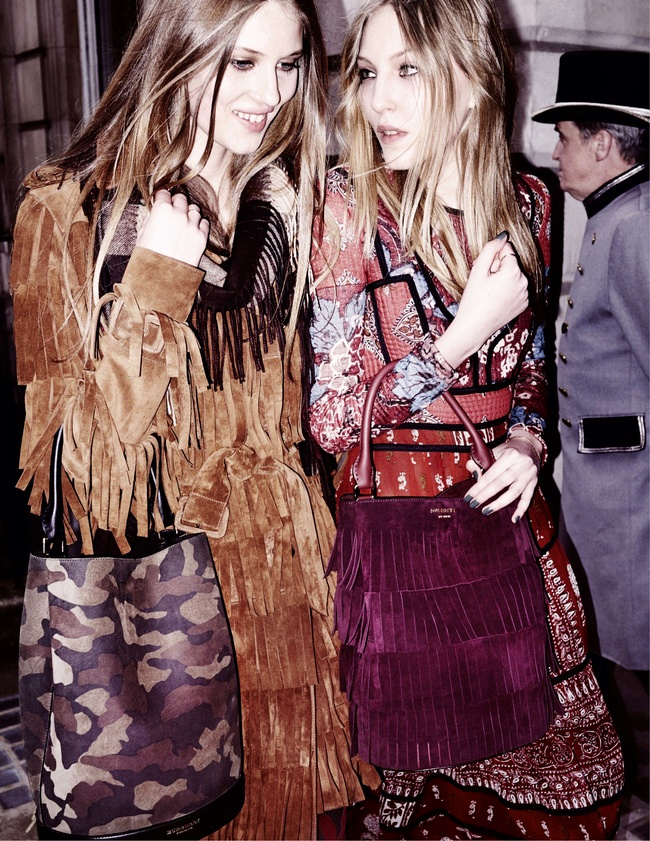 Campagne Burberry - Automne/hiver 2015-2016 - Photo 1