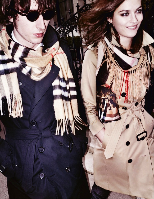 Campagne Burberry - Automne/hiver 2015-2016 - Photo 3