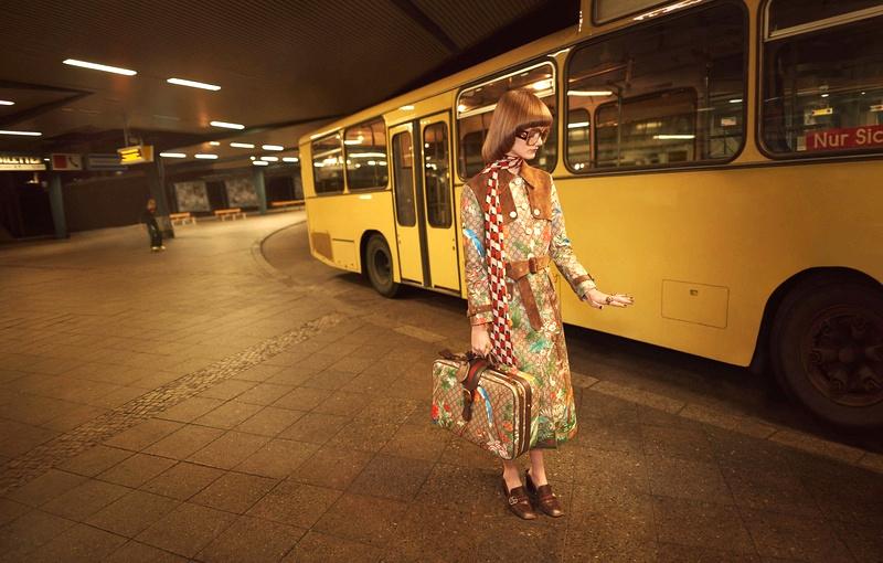 Campagne Gucci - Printemps/été 2016 - Photo 1