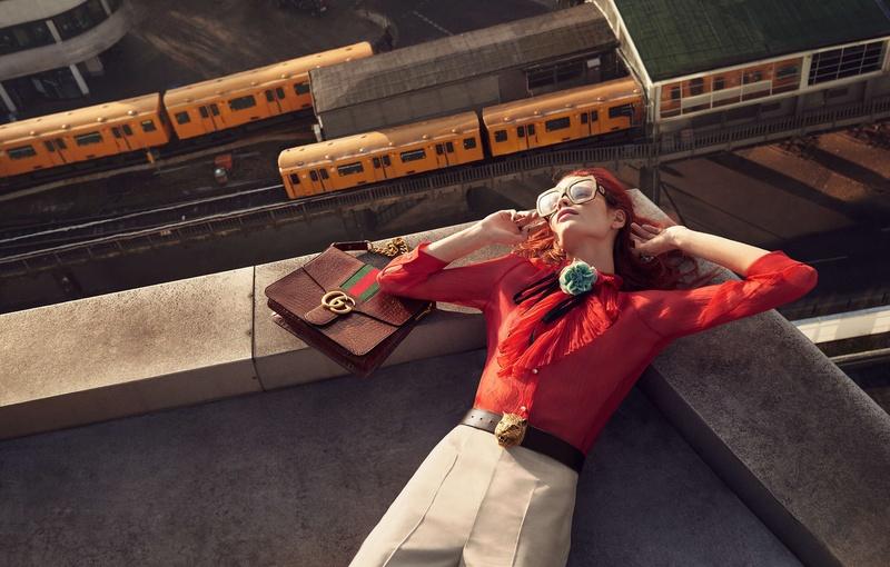 Campagne Gucci - Printemps/été 2016 - Photo 3