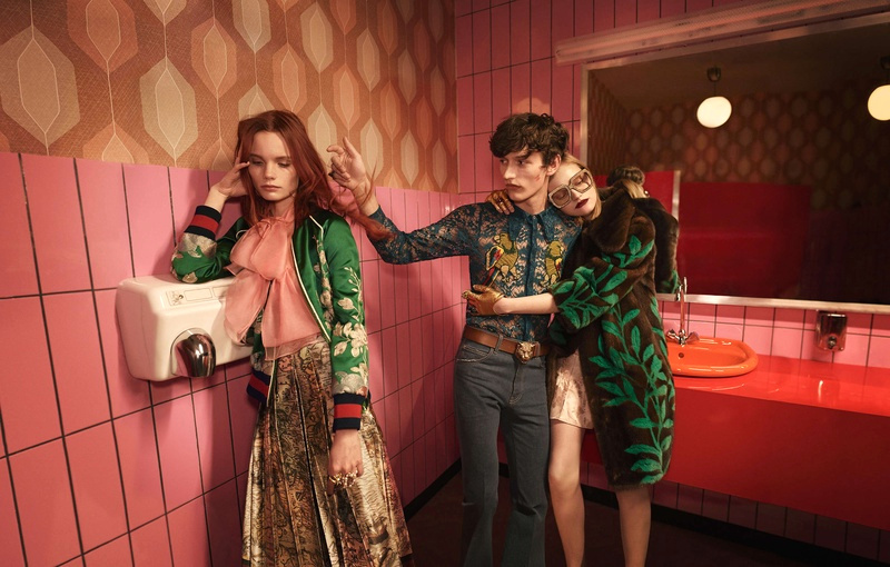 Campagne Gucci - Printemps/été 2016 - Photo 4